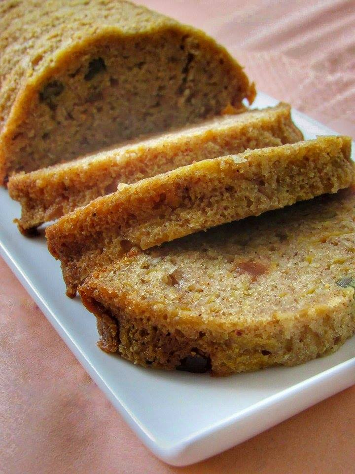 Dýňový biskupský chlebíček od maminky