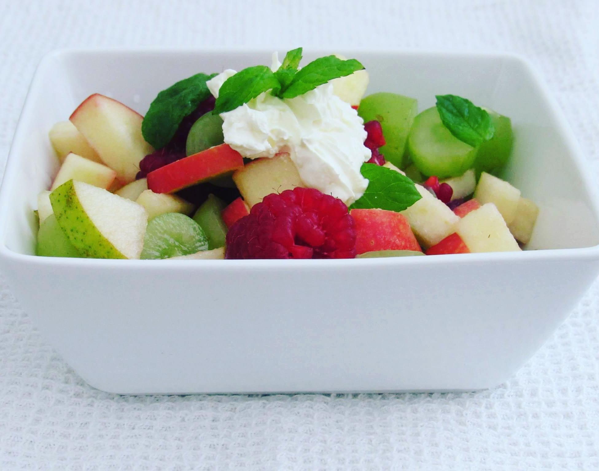 Ovocný salát se zálivkou