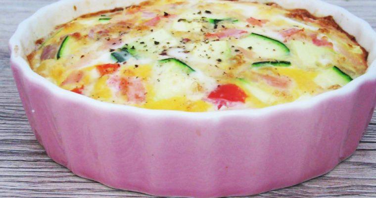 Zapečená omeleta