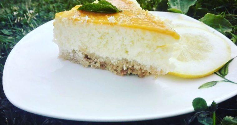 Citrónový cheesecake s lemon curd od Janči
