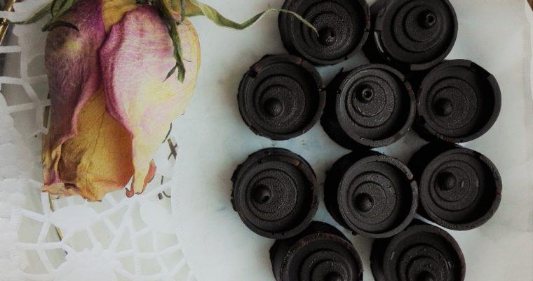 Čokoládové pralinky s oříškovým krémem od Janči